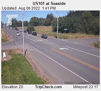 RoadCam - US101 at Seaside