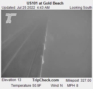 RoadCam - US101 at Gold Beach