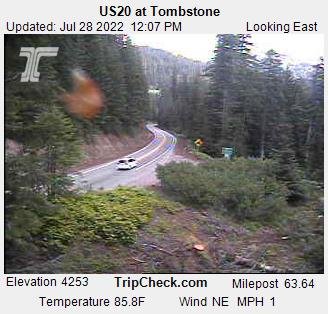 RoadCam - US20 at Tombstone