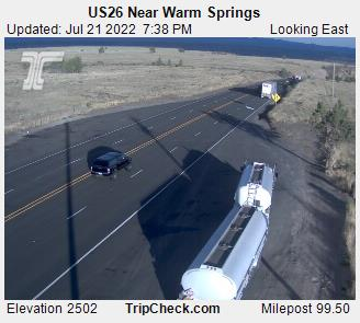 Roadcam - US26 near Warm Springs