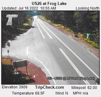 RoadCam - US26 at Frog Lake