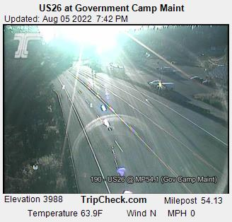 US26 at Government Camp Main