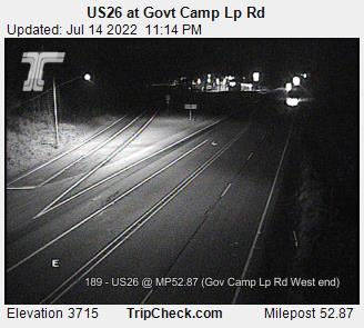 US26 at Govt Camp Lp Road