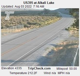 RoadCam - US395 at Alkali Lake