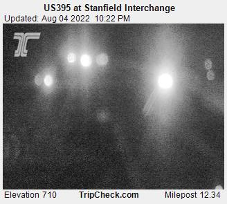 RoadCam - US395 at Stanfield Interchange