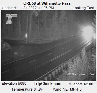 Willamette Pass OR