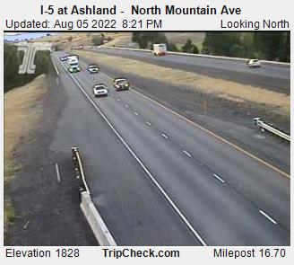 RoadCam - I-5 at Ashland -  North Mountain Ave