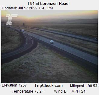 RoadCam - I-84 at Lorenzen Road