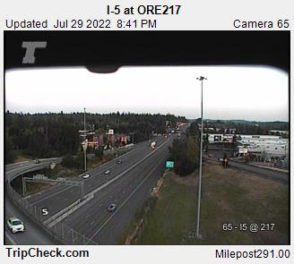 RoadCam - I-5 at ORE217