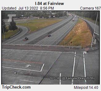 RoadCam - I-84 at 207th Ave