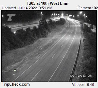 RoadCam - I-205 at 10th/West Linn