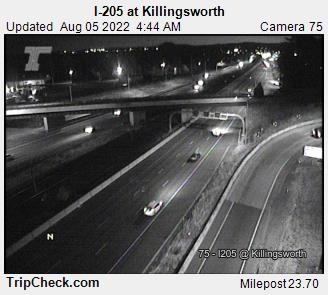 RoadCam - I-205 at Killingsworth