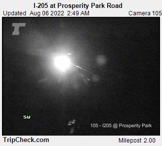 RoadCam - I-205 at Prosperity Park