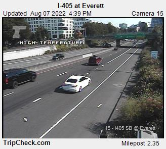 RoadCam - I-405 at Everett