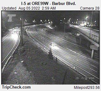 RoadCam - I-5 at ORE99W - Barbur Blvd.