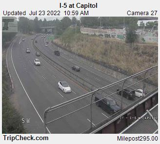 RoadCam - I-5 at Capitol
