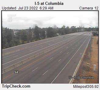 RoadCam - I-5 at Columbia