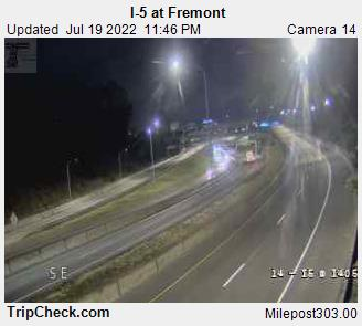 RoadCam - I-5 at Fremont