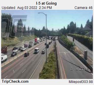 RoadCam - I-5 at Going