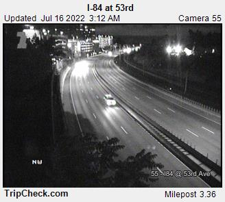 RoadCam - I-84 at 53rd