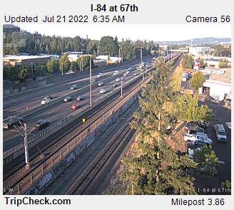RoadCam - I-84 at 67th