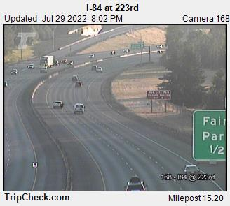 RoadCam - I-84 at 223rd Ave