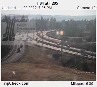 RoadCam - I-84 at I-205